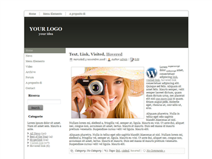 Template preview: Easy per Wordpress