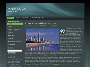 Esempio di tema gratuito per wordpress