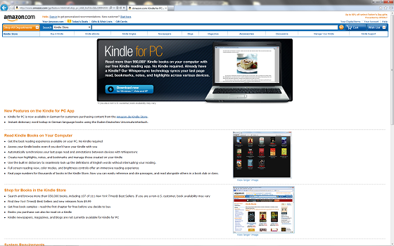 Kindle per PC