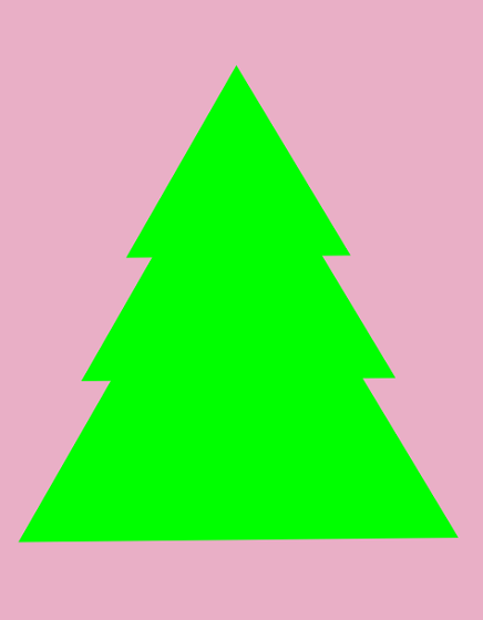 Disegniamo un albero di natale con inkscape csi multimedia - Contorno di un albero di natale ...