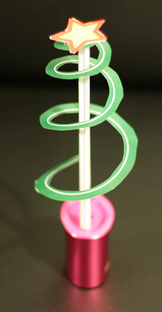 L'albero a spirale realizzato con Inkscape