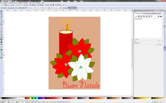 Disegnare Una Stella Di Natale.Disegnare Una Stella Di Natale Con Inkscape Csi Multimedia