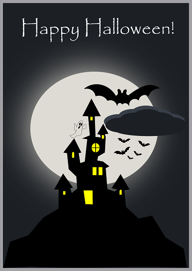 Happy halloween con inkscape csi multimedia for Disegni di halloween colorati