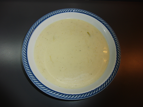 Crema di asparagi light