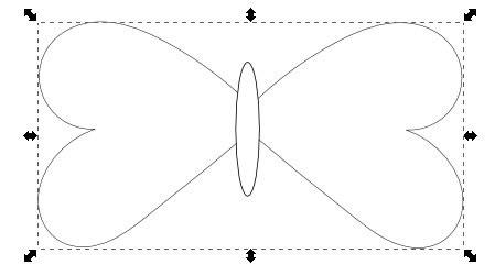 farfalline tridimensionali in feltro con inkscape - csi multimedia