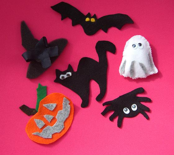 Decorazioni in feltro per halloween con inkscape csi - Halloween decorazioni ...