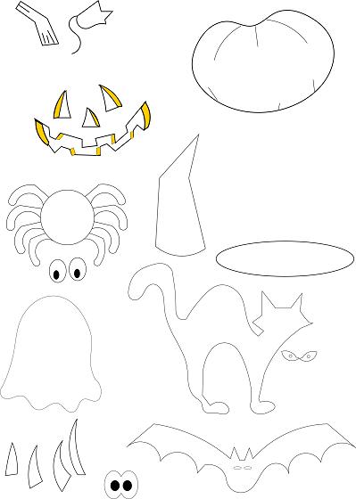 Cartamodelli Decorazioni Natalizie In Feltro.Decorazioni In Feltro Per Halloween Con Inkscape Csi Multimedia