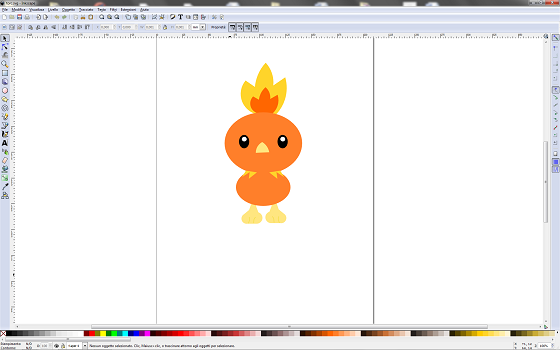 Torchic con Inkscape
