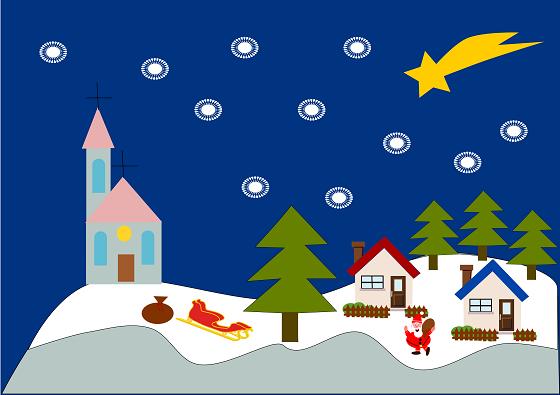Paesaggi innevati con inkscape csi multimedia for Paesaggio invernale disegno
