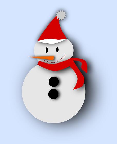Pupazzo di neve per Natale con Inkscape - CSI MultiMedia f5433cec92ec