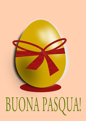 Uova dorate con inkscape csi multimedia - Foglio colore coniglietto pasquale ...