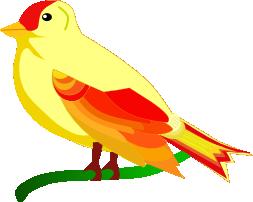 Uccellini colorati con inkscape csi multimedia for Uccellino disegno