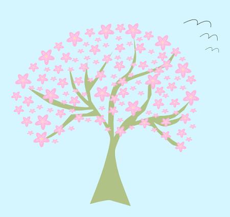 Dov è La Primavera Cerchiamola Con Inkscape Csi Multimedia