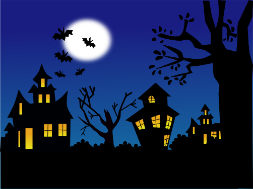 La notte di halloween con inkscape csi multimedia for Disegni di halloween colorati